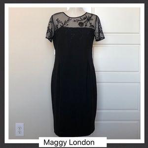 Maggy London A Line Dress Size 8